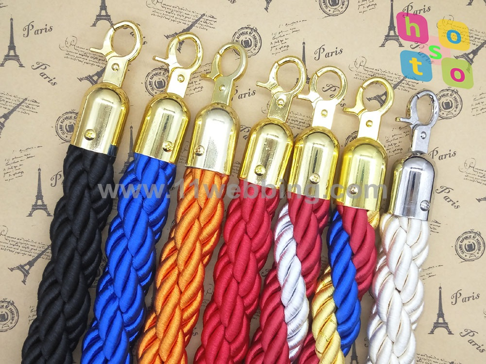 2 Colors Premium Braided Rope for Stanchion Post