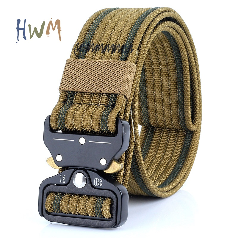 Quick Release Belt Outdoor Sports Tactical Belt Men Custom Logo