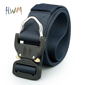 Tactical Belt Heavy Duty with Aluminium D-ring Cobra Belt