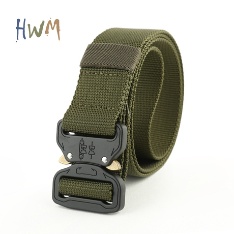 Cobra Buckle Nylon Belt