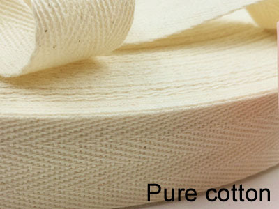 Pure cotton webbing