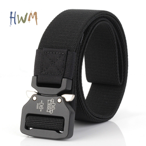 Quick Release Buckle, Elastic Braided Belt for Outdoor Sports