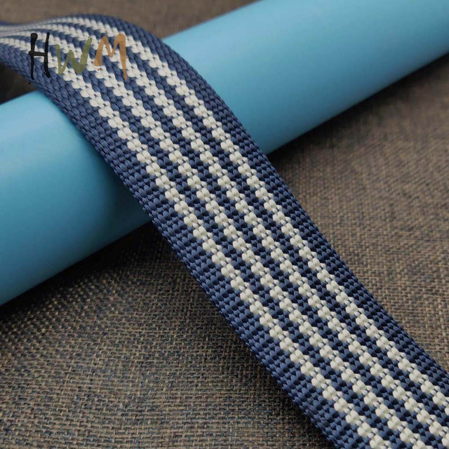 38mm Stripe Webbing for Students Outdoor Belt, Fashion Belt