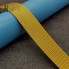 1 Inch Imitation Nylon Webbing in Yellow for Bag Strap